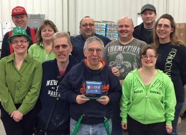 Country Valley Industries Receives Frito Lay Award