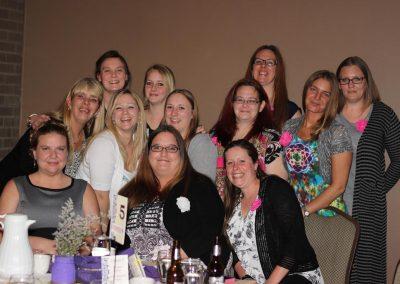Annual dinner dance group photo